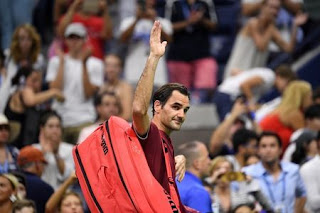 Federer crashed out of U.S. Open