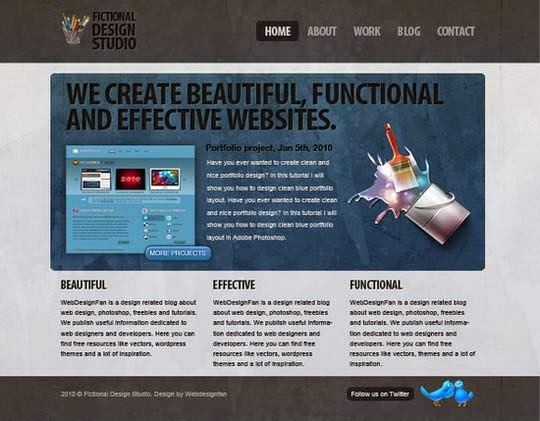 Code a Modern Design Studio from PSD to HTML