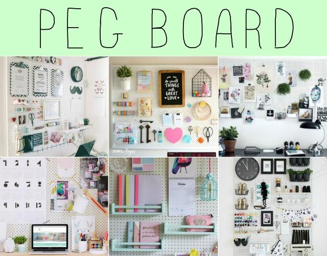 Mural de Peg Board