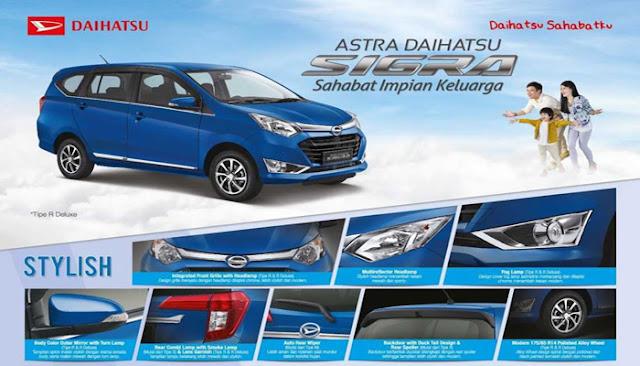 Desain Daihatsu Sigra