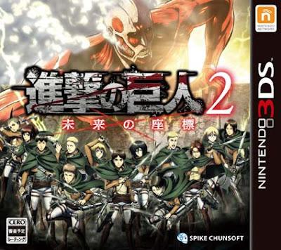 Attack on Titan 2 Future Coordinates CIA 3DS JAP