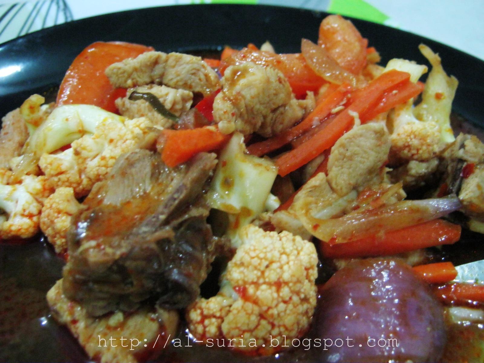 resepi paprik ayam sedap mudah rasmi suc Resepi Macaroni Goreng Sinar Kehidupanku Enak dan Mudah