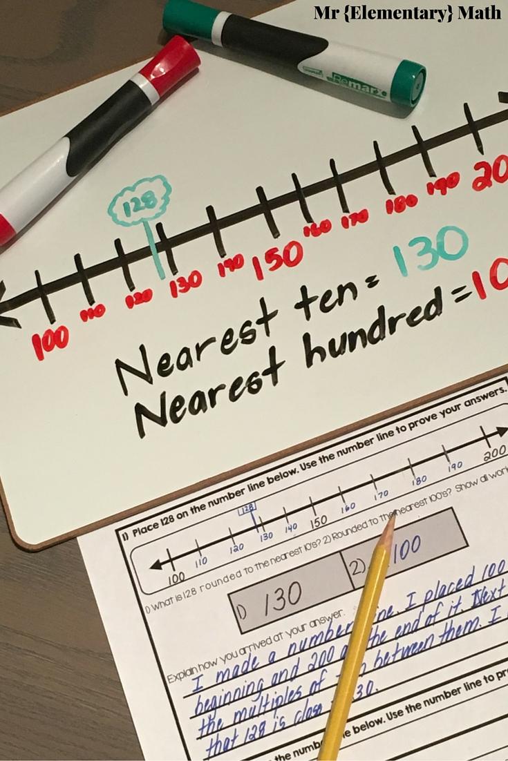 medium resolution of Rounding 101 - Number Lines