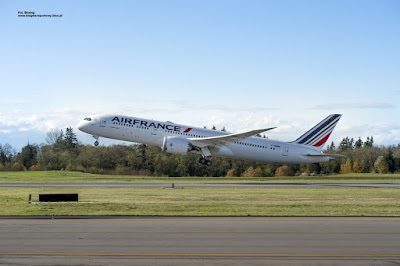 Boeing 787 Dreamliner, F-HRBA, Air France
