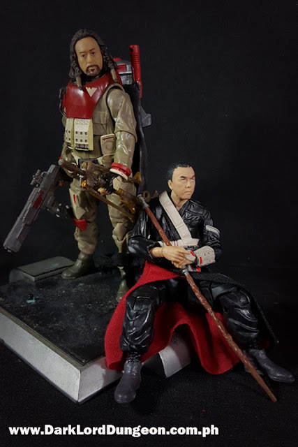 Star Wars Black Series Chirrut Imwe and Baze Malbus  Action Figures