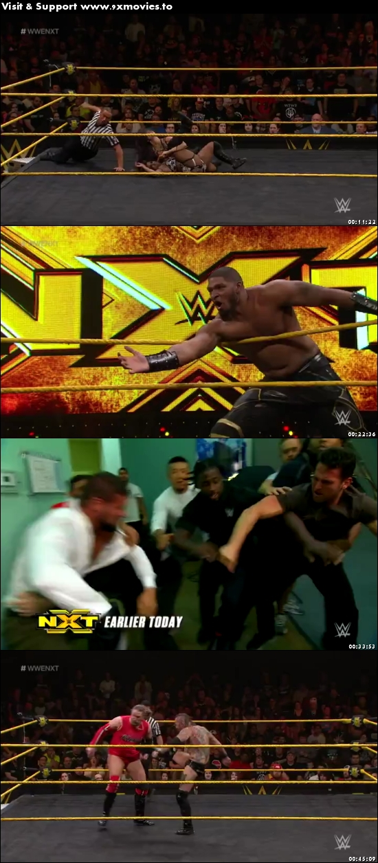 WWE NXT 21 June 2017 WEBRip 480p 200MB