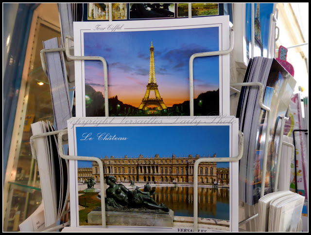 Paris Versailles postcards