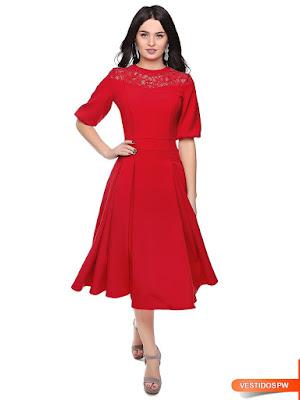 Vestidos Rojos Elegantes