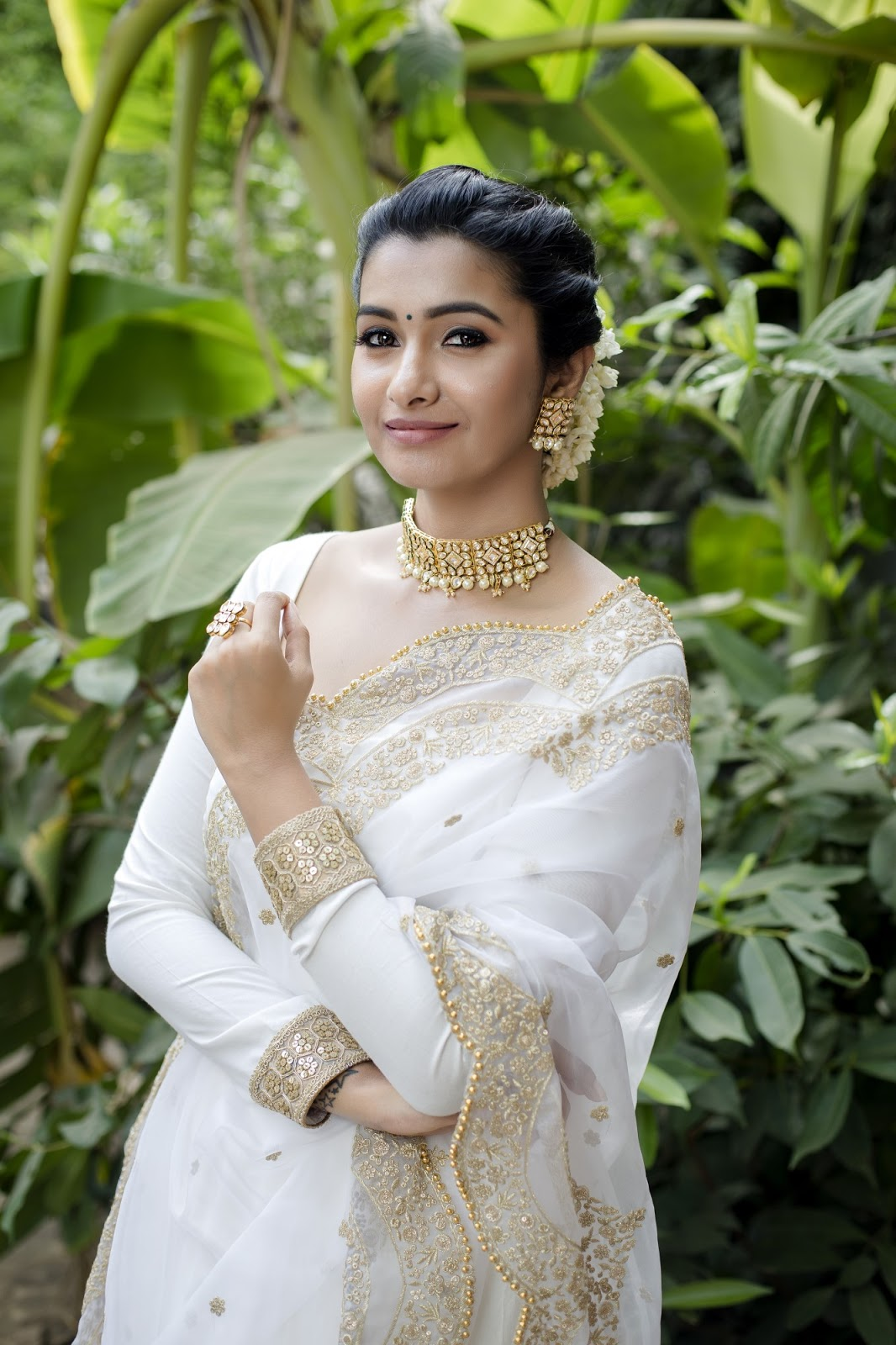 Indian 2 Movie Actress Priya Bhavani Shankar Latest Photoshoot Stills