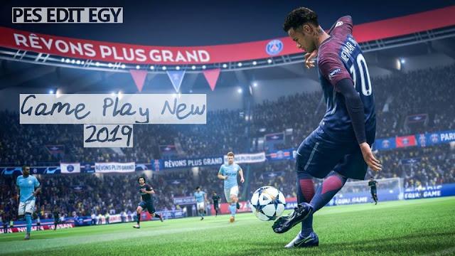 PES 2017 New Hard Gameplay dari PESEdit EGY