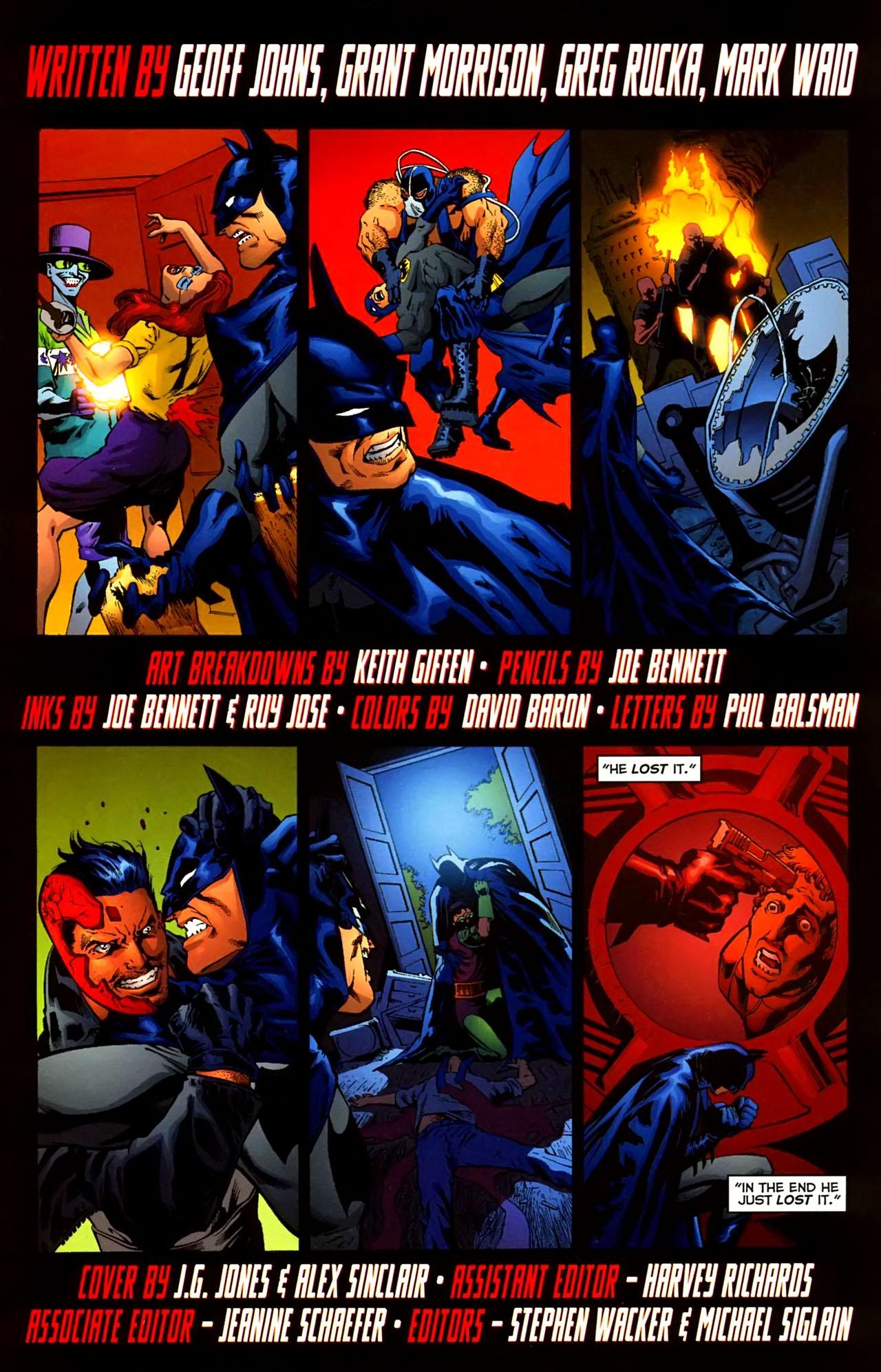 Read online Batman: The Black Casebook comic -  Issue # TPB - 178