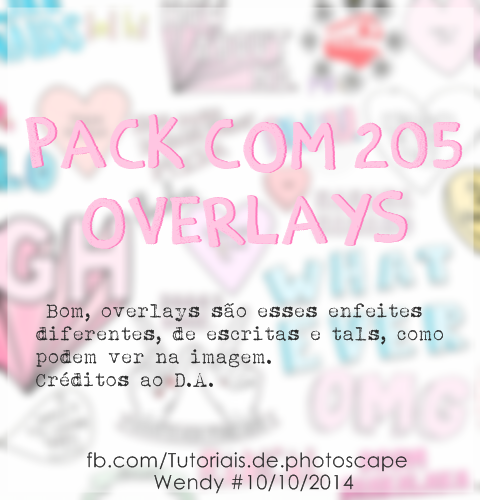 Pack de OVERLAYS