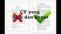 Dalam dunia kerja hal yang perlu disiapkan yaitu CV Cara Membuat CV untuk Pemula dengan Baik dan Benar