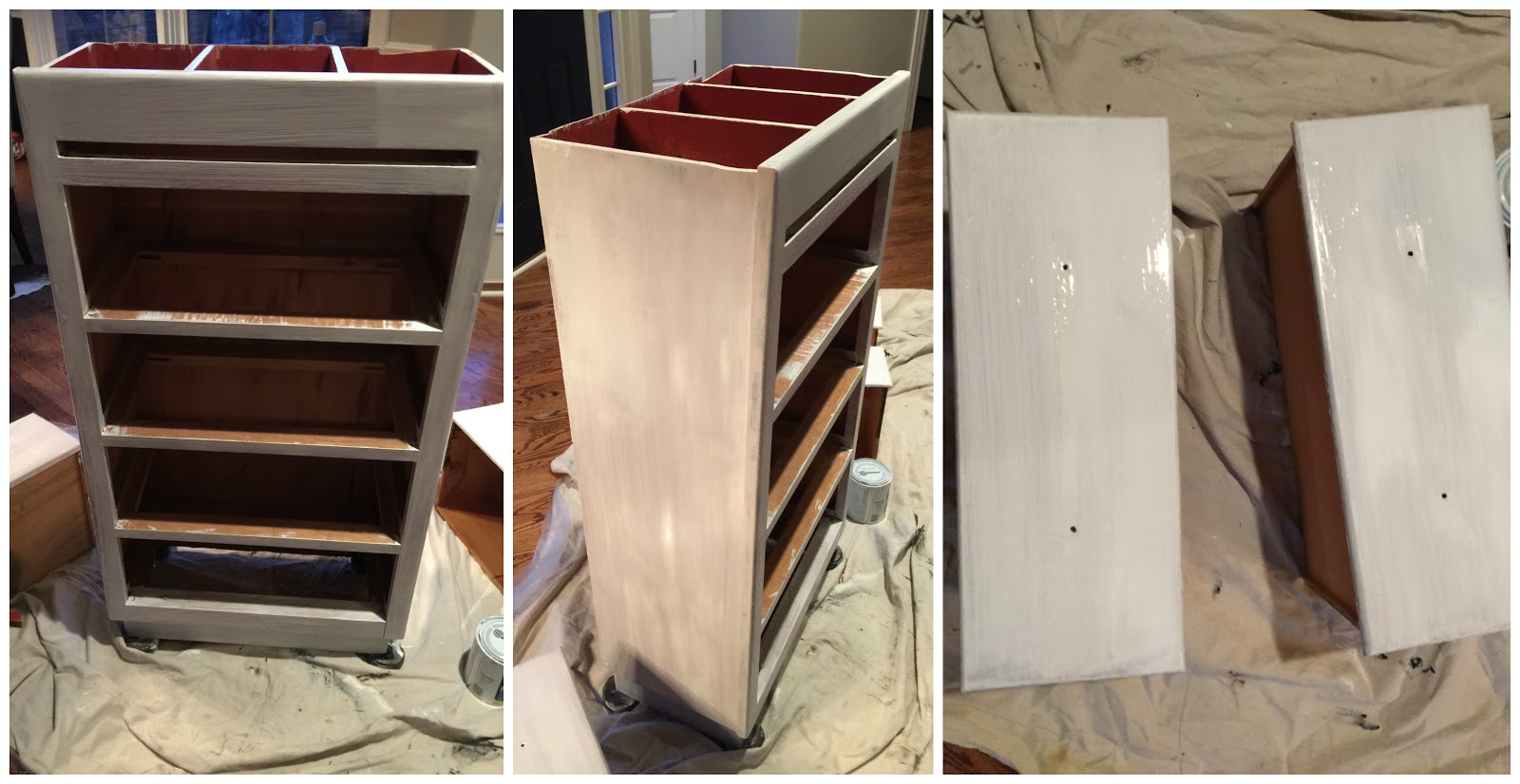 My Passion For Decor Beach Inspired Cabinet Using Nautica Paint