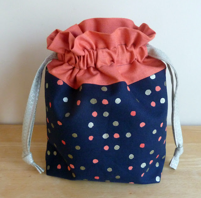 alidiza: Lining Up - Cotton + Steel Lined Drawstring Bag