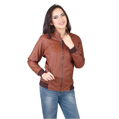 jual jaket jeans wanita modis