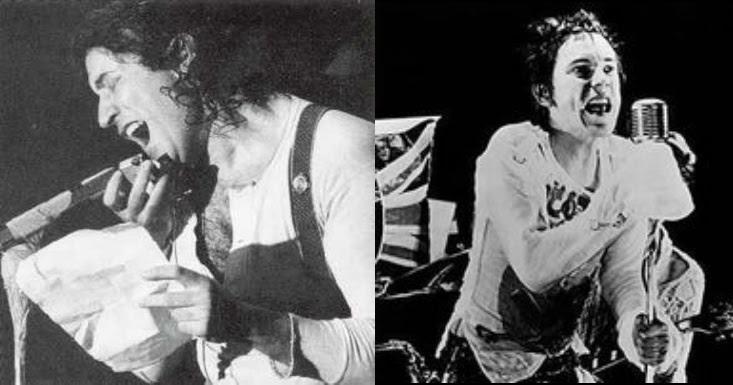 SPECCHI - Area e Sex Pistols