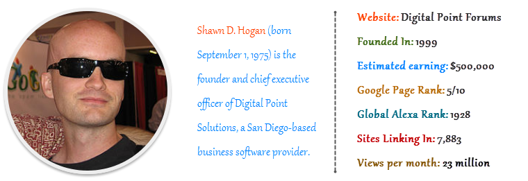Shawn D. Hogan - Digital Point Forums