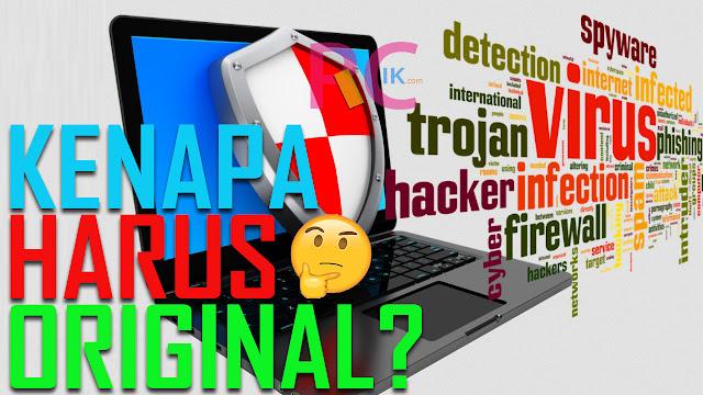 Seberapa Penting Antivirus Original Pada Sebuah Komputer? Bukanny Versi Full Pak Tani Ada dan Gratis Pula? Baca Ini Dulu Baru Komentar!