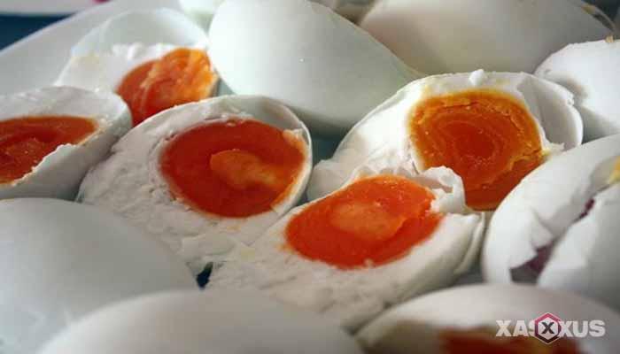 Cara membuat telur asin rasa jahe