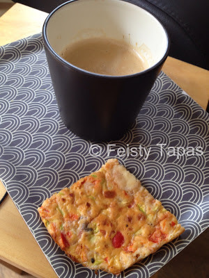 Thermomix Crustless quiche