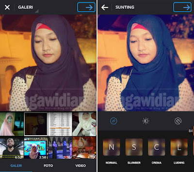 Upload Foto Instagram Bagikan Ke Facebook, Twitter, Tumblr, Flickr