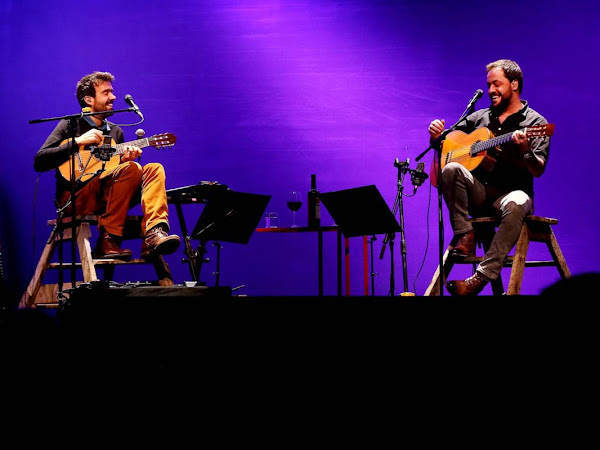 Miguel Araújo e Antonio Zambujo: o meu dia!