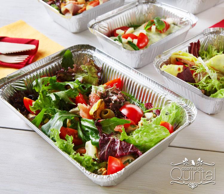 Busque a embalagem perfeita para a sua comida