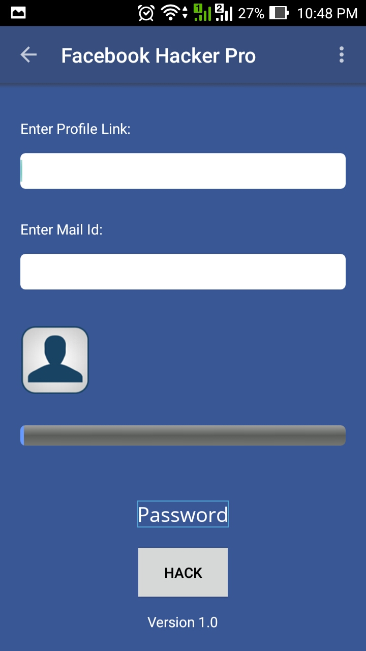 facebook hacker pro activation key android