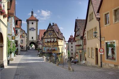 Tham quan Rothenburg Ob Der Tauber ở Đức