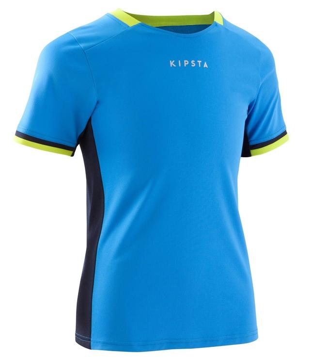 Desain Kaos Futsal Kipsta Warna Biru Kombinasi Hitam Kuning 0ffad79b93
