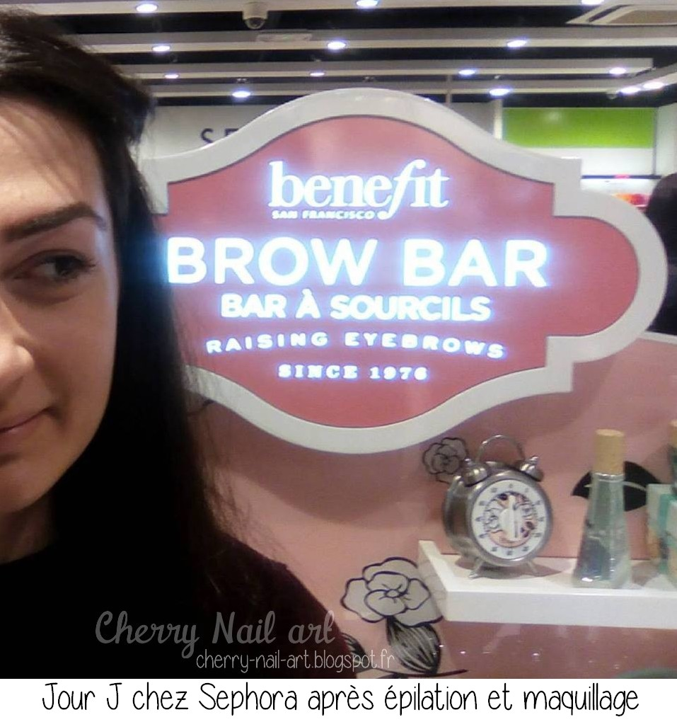 épilation bar a sourcil Benefit Sephora