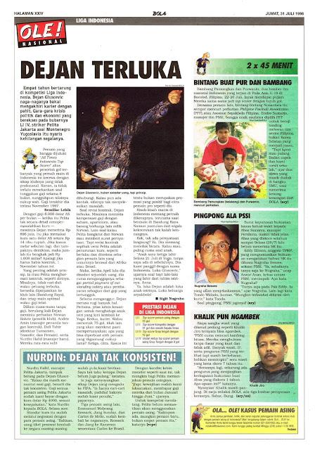 DEJAN GLUSEVIC LIGA INDONESIA