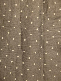 "FWK by Engineered Garments ""Tuck Skirt-Polka Dot Lawn"""
