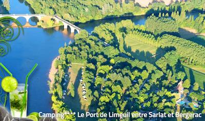 camping carp river Dordogne