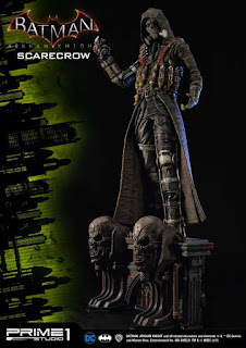 Scarecrow e la base diorama