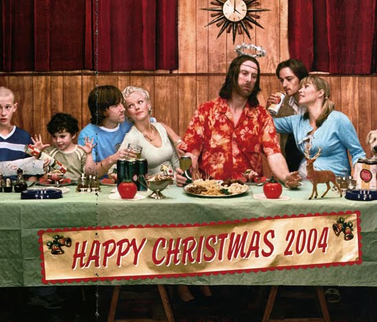 The Last Supper 2004 by photographer Jim Fiscus (detail)