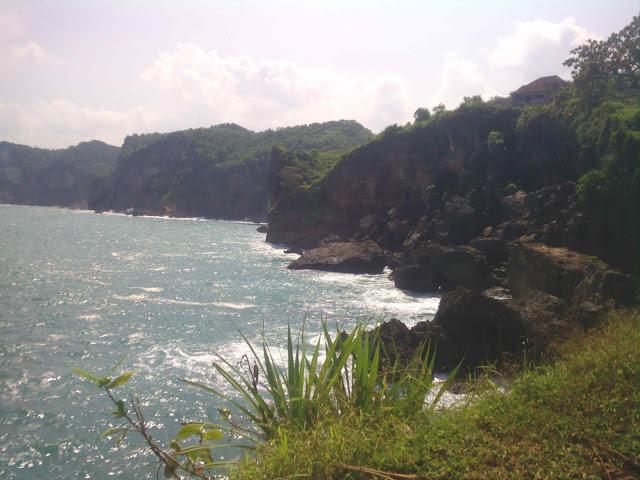 Mancing di tips trik lokasi koordinat jalan menuju Pantai Celeng Tibo (Celtib) Salah Satu Spot Mancing Tersembunyi