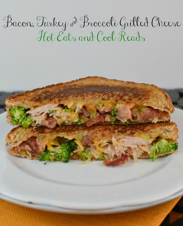 Bacon, Turkey and Broccoli Grilled Cheese
