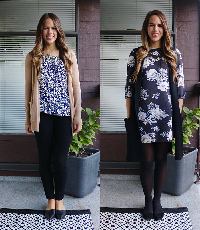 Jules in Flats: December Work Outfits