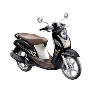Dealer Motor Yamaha Mio Fino Premium FI di Solo Hitam