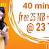Banglalink minute offer 2018 | 40 minute | Free 25 MB and 25 SMS