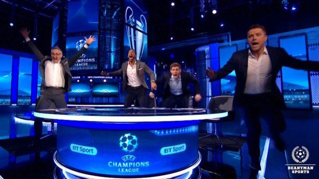 La loca celebración de Gerrard, Lineker, Ferdinand... ¡y Owen!