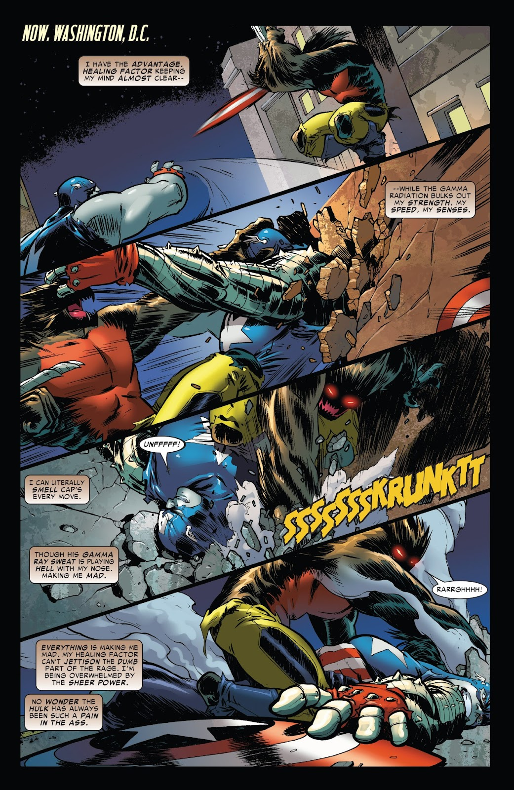 World War Hulks: Wolverine vs. Captain America Issue #1 #1 - English 13