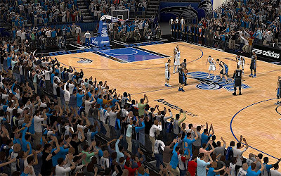 NBA 2K13 Orlando Magic Crowd Fix