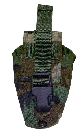 Webbingbabel Sds Flash Bang Grenade Smoke Canister Pouch Woodland