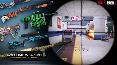 Bullet Party CS 2 : GO STRIKE v1.1.3 Apk Mod Money + Ammo