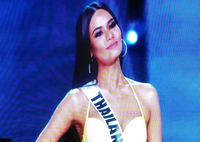 Miss Thailand Chalita Suansane