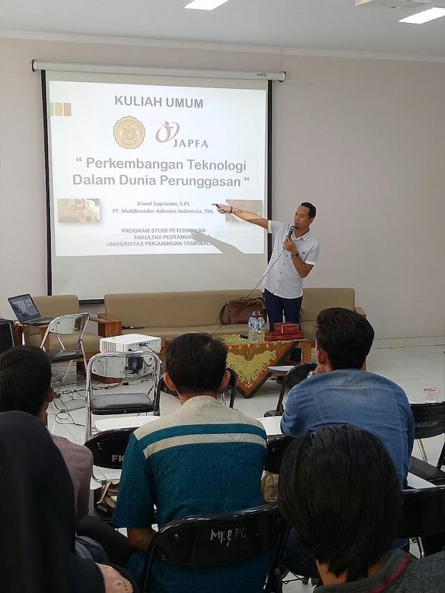 Pengurus Kafapet Irland Supriyanto Narasumber Seminar Unper