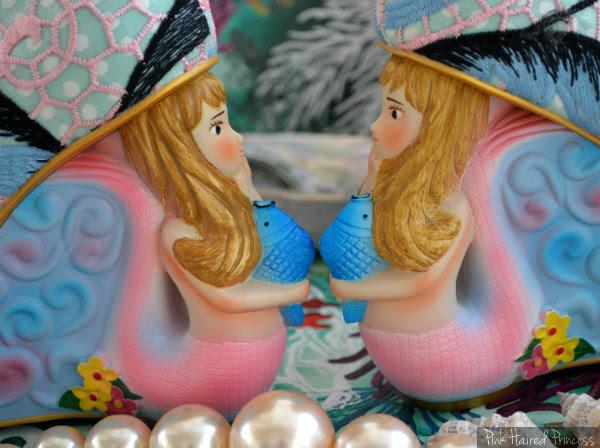 Irregular Choice Aquata mermaid heel detail